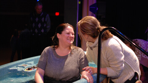 Michele Smith calls baptism life-changing
