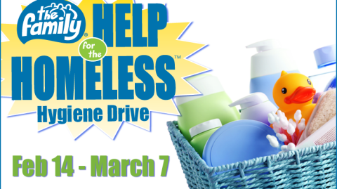 The Family Help for the Homeless Hygiene Drive